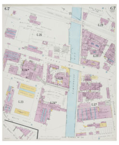 Goad (Charles E.) Fire insurance Plan of Limehouse