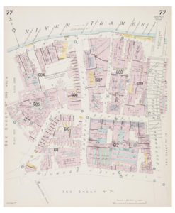 Goad (Charles E.) Fire insurance plan of Bankside