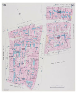 Goad (Charles E.) Fire insurance plan of Bishopsgate