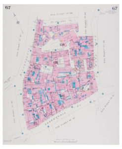 Goad (Charles E.) Fire insurance plan of Bishopsgate to St Mary Axe