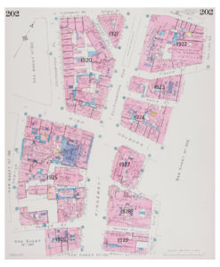 Goad (Charles E.) Fire insurance plan of Bloomsbury and Holborn