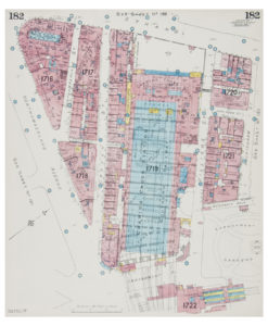 Goad (Charles E.) Fire insurance plan of Charing Cross
