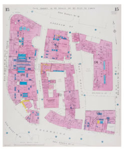 Goad (Charles E.) Fire insurance plan of Cheapside and Goldsmiths Hall