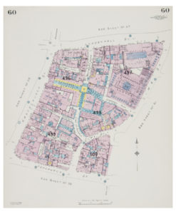 Goad (Charles E.) Fire insurance plan of Leadenhall Market and Lloyd's of London