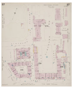 Goad (Charles E.) Fire insurance plan of Lincoln's Inn Fields