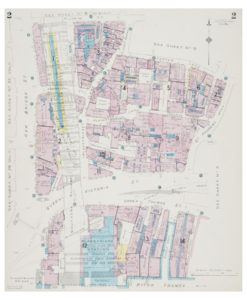 Goad (Charles E.) Fire insurance plan of Ludgate Hill