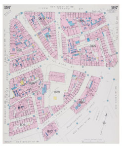 Goad (Charles E.) Fire insurance plan of St Giles