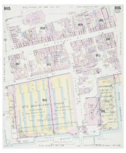 Goad (Charles E.) Fire insurance plan of Tobacco Dock in Wapping