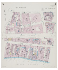 Goad (Charles E.) Fire insurance plan of Upper Thames Street