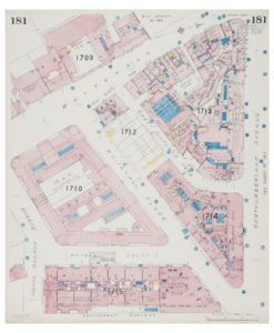 Goad (Charles E.) Fire insurance plan of Whitehall