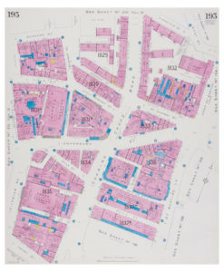 Goad (Charles E.) Fire insurance plan of the west side of Charing Cross Road