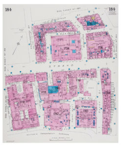 Goad (Charles E.) Fire insurance plan of the west side of the Strand