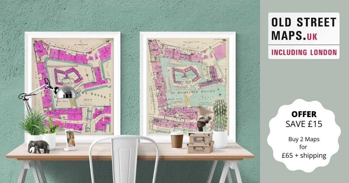 Old Street Map Offer