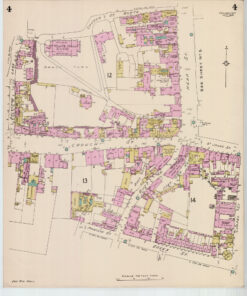 Crouch Street Colchester Goad Old Street Map