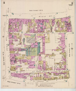 Culver Street Colchester Old Street Map