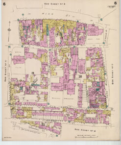 Colchester Old Street Map, Culver Street